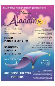 Aladdin Color Postcard